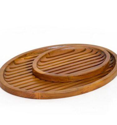 Blad Oval Tray